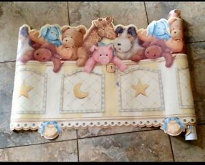 Very cute large room wall border, 2ft wide by 21.75 ft long,
