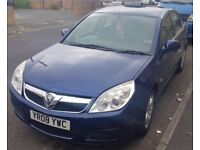 08 PLATE VAUXHALL VECTRA £400ono