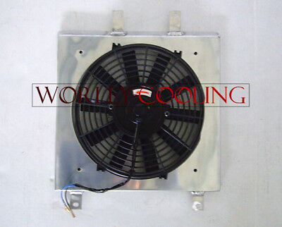aluminum shroud & fan for Honda Civic EK EG 1992-2000 92 93 94 95 96 97 98 99 00
