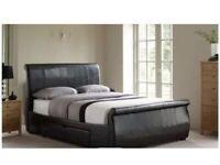 King Size Manhattan upholstered bed Frame Only