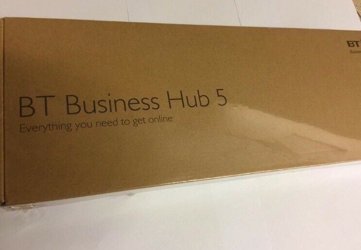 BT Hub 5 sealed and boxed