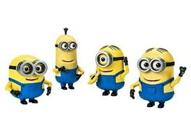 Minions Action Figures 4 pack