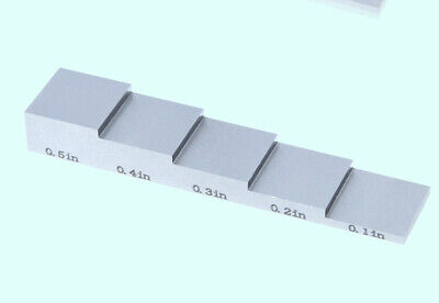 New Ultrasonic Thickness Gauge 5-step Calibration Blocks 5-step