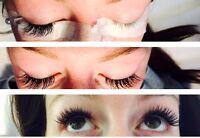 Beautiful hair and lashes