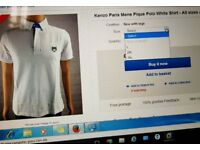 Kenzo Men's Polo short sleeves shirt