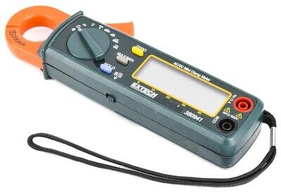 Extech 380941 Professional Acdc 200a 40a Digital Mini Clamp Meter Unit