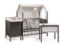 Stokke home complete set cot, change table, bassinet