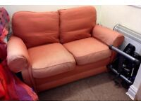 Two sofas going free- need to be picked up this weekend