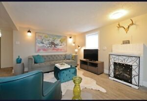 Gorgeous, furnished 2 bedroom.