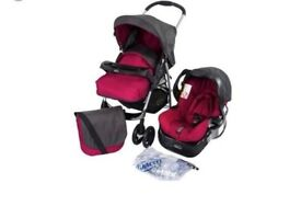 Graco Candy Rock Travel System In Excellent Condition