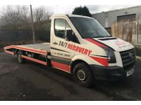 Volkswagen crafter 2.5 blue tdi 109 lwb recovery truck no vat