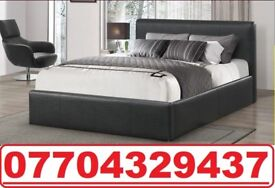 DOUBLE LEATHER BED BRAND NEW FRAME