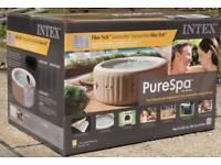 INTEX 4/6 PURE SPA/HOT TUB