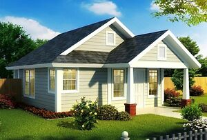 NEW $77,000 CONSTRUCTED 550 SQ FT BUNGALOW ON YOUR LOT