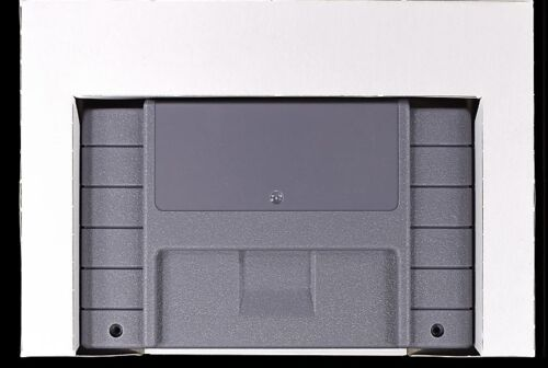 Super Nintendo SNES Replacement Game Tray Insert [Bottom Variant]