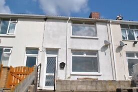 Two Bedroom House To Rent - Llewellyn Street, Gilfach