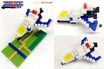 Building Block Pixel Art Megaman 1UP Head  Protoman Compatible With nanoblock~