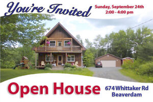 OPEN HOUSE - Sunday, Sept 24th - 2 - 4 PM - Come Take A Look!