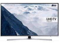 SAMSUNG 49 Inch UE49KU6470 Smart 4k Ultra HD HDR LED TV, With 2 remotes KU series