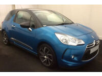Citroen DS3 CITROEN DS3 DSTYLE DSPORT PLUS DSIGN Nav FROM £36 PER WEEK!
