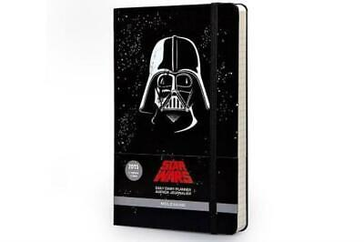 Moleskine 2015 Star Wars Limited Edition Daily Planner 12 Month Large Bl...
