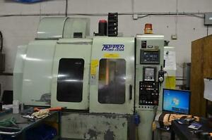 Topper Model TMV-1050A CNC Vertical Machining Center,