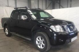 NISSAN NAVARA BLACK CREWCAB PICK-UP 2.3 2.5 DCI TEKNA FROM £57 PER WEEK!