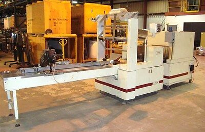 I-pak Machinery Flow Wrappper With Shrink Tunnel