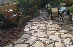 Free patio flagstone