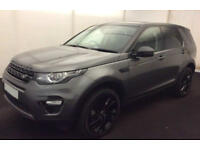 LAND ROVER DISCOVERY SPORT 2.0 TD4 180 HSE BLACK SE TECH 2.2 FROM £150 PER WEEK!
