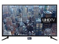 SAMSUNG UE40JU6000 40 INCH SMART WIFI 4K TV WITH FREEVIEW HD - Brand New