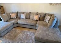 SALE-SALE - ON BRAND NEW U SHAPE SOFA WITH FOOTSTOOLS -CASH ON DELIVERY ORDER NOW