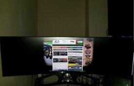 samsung 49 inch ultra wide monitor