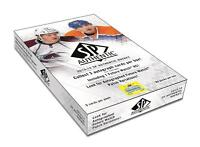 2013-14 Upper Deck SP Authentic Hockey Cards Hobby Box