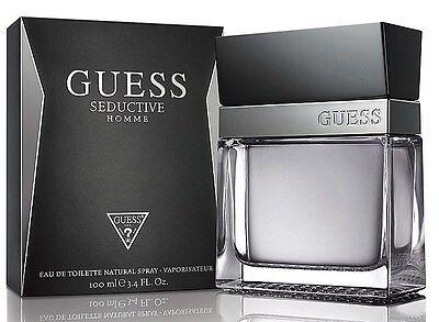 GUESS SEDUCTIVE HOMME 3.3 / 3.4 edt Men Cologne New in Retail Box