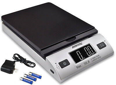 Accuteck S 50lbx0.2oz All-In-One Digital Shipping Postal Scale W/AC Postage