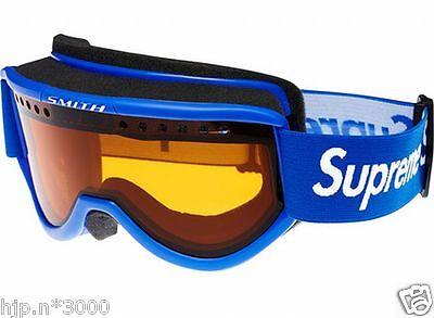 Supreme Smith Collaboration Cariboo OTG Ski Goggle Goggles Blue Auth FS tracking
