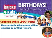 LEGO Birthdays!!!  A fun, unique and exciting way to celebrate!!