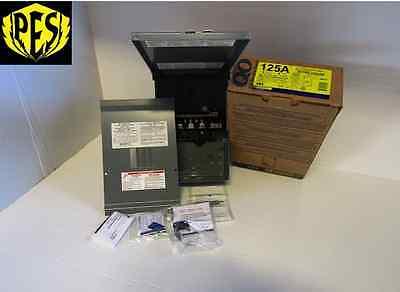 New In Box Square D Qo148l125grb 125 Amp 120240volt 1 Phase Rainproof Enclosure