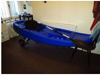 Sea Kayak - Sit on top kayak with seat and paddle included - Fatyak