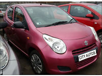 SUZUKI ALTO 2014 30,500 MILES 1.0 PETROL 5 DOOR HATCHBACK MANUAL PINK