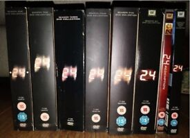 24 dvd seasons 1-7 and redemption