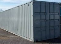20' and 40' used sea containers for sale