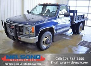 1995 GMC SIERRA 3500HD BLUE