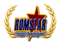 TRANSPORT ROMSTAR MOVING 7/7 SERVICE GUARANTEED.