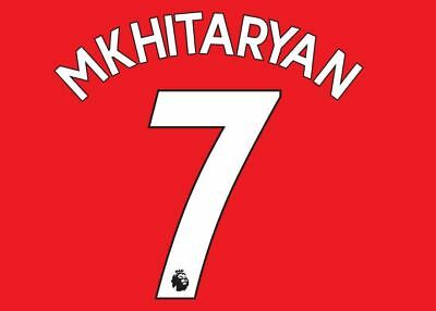 f94fc339e209ca Mkhitaryan  7 Arsenal 2017-19 Premier League Home Football Nameset shirt