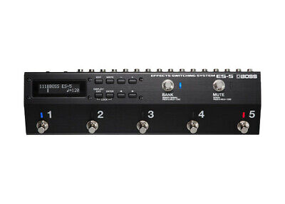 Boss ES-5 Effects Switching System - FREE 2 DAY SHIP