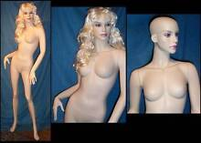 Fibreglass Female Mannequin painted face & eye lashes NEW 3fs Budgewoi Wyong Area Preview