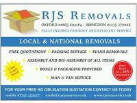 House Removals - Oxford
