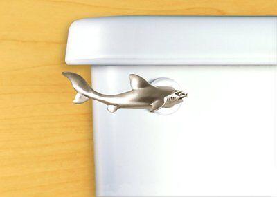 DECORATIVE Beach House Bathroom Tank Lever Toilet Flush Handle Replacement Shark
